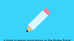 6 tricks to keying BTL applications on the Broker Portal